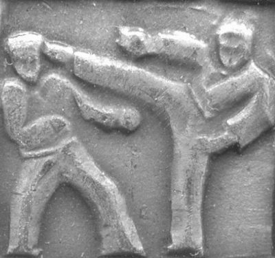 13. Борьба карате